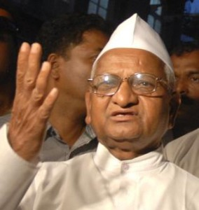 Anna Hazare's fashion