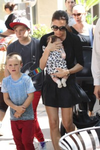 Fashion of baby Beckham and Victoria